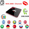 Super Italy IPTV VOD H96 PRO S912 Android 6.0 TV box Server LiveTV iptv french africa skv italy UK DE arabic iptv Smart tv Box