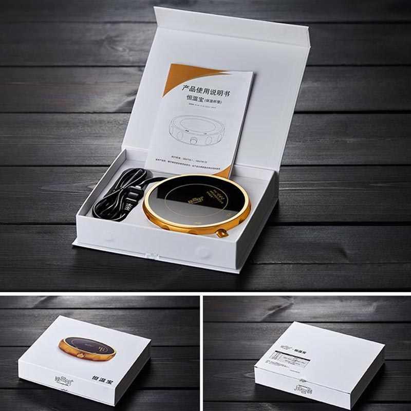220V Nuovo Disegno Portatile Riscaldamento Bollitore Tazza Da Tè Riscaldatore Teiera di Vetro di Riscaldamento Caldo Caffè di Base Colazione Latte Scaldino Accessori Per il Tè