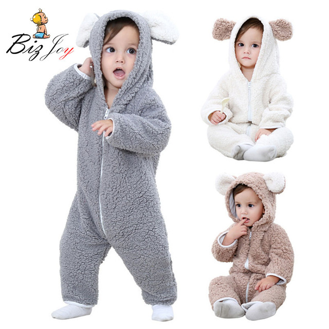 11cb81dd7 Romper Jumpsuit Playsuit Bear animal Baby animal Cute children ...