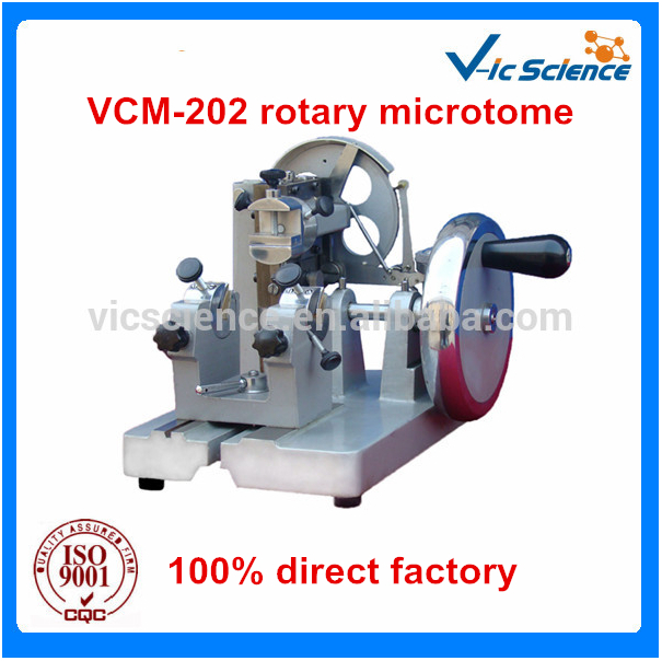 The most easy to operate practical microtome VCM-202 rotary microtome цена 2017