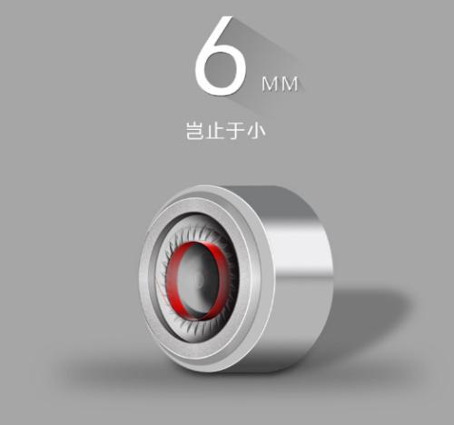 6 mm speaker unidade de bobina móvel diy capa