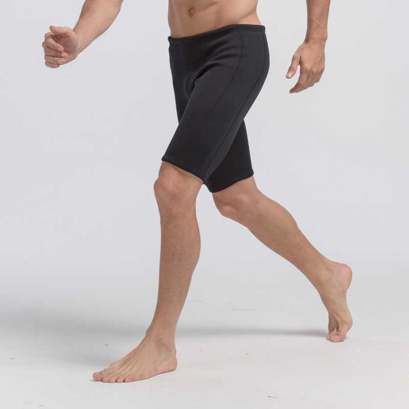 SBART Pria Surfing Celana Pendek Neoprene Wetsuit 3 Mm Neoprene Ruam Penjaga Celana Pakaian Renang Menyelam Anti Ubur-ubur Keren Snorkeling