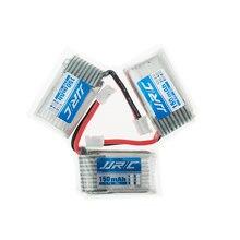 3pcs JJRC H36 3.7V 150mAh Lipo Battery For JJRC H36 & Eachine E010 Li-po Battery RC Quadcopter Spares Parts Toys Accessories