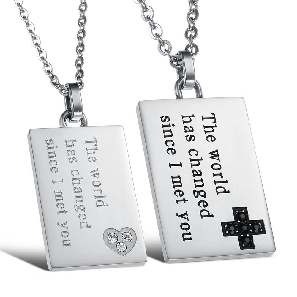 Compare Prices on Matching Necklaces for Couples- Online Shopping ...