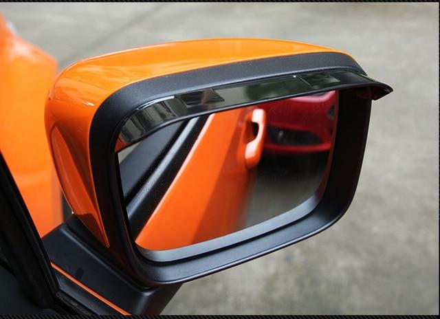 Auto Accessories Of Rearview Mirror Rain Gear Shield Rear View Mirror Anti Rain Cover For Jeep Renegade 2015 2016