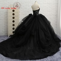 New Ball Gown Quinceanera Dresses For 15 Year Ruffles Tiered Organza Vestido de 15 Anos Sweet 16 Dress Real Photo