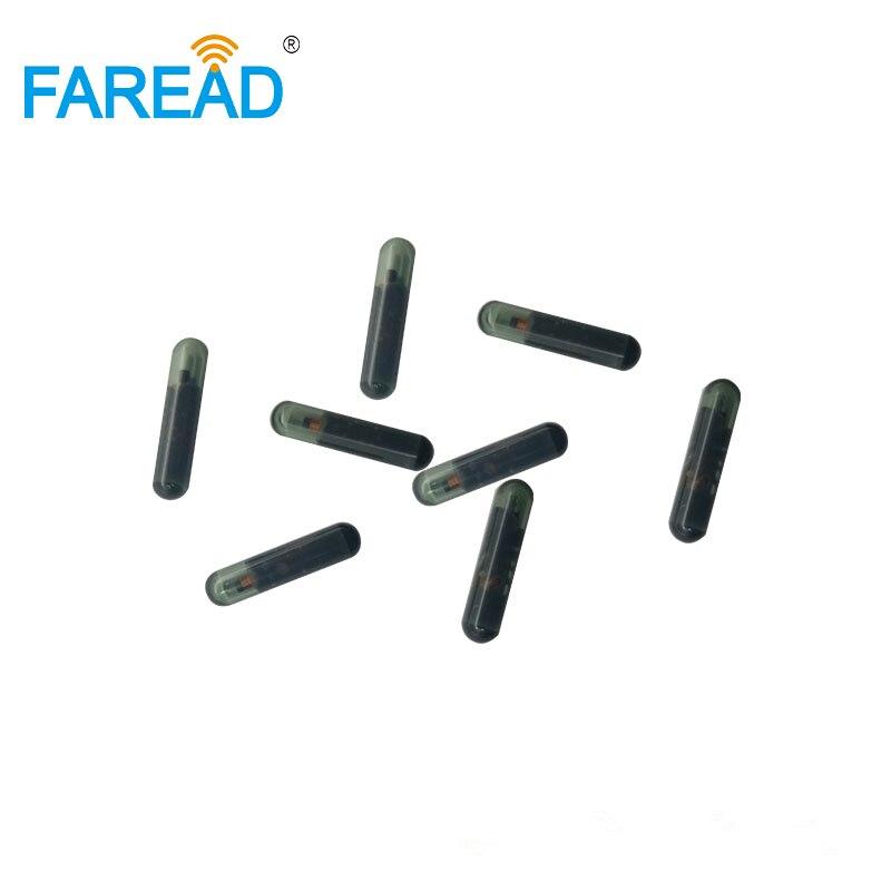 X20pcs  Free Shipping 125KHZ T5577 FDX-A 1.4*8mm LF Microchip RFID Tag