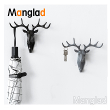 Wall Decor Antlers Hook American Style Household Decor Hooks Multi-purpose Wall Coat Keys Bags Coat Hook Bags Accessories