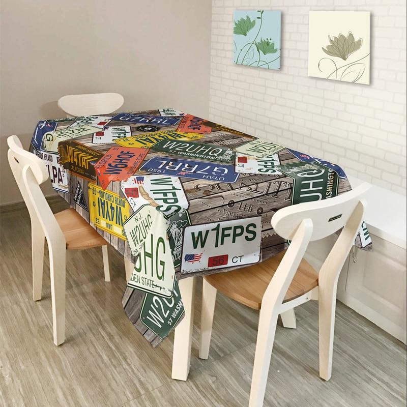 새로운 홈 장식 테이블 천으로 식탁보 커피 - 홈 섬유