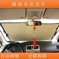Новый автомобиль козырек от солнца бывший файла honeycomb тип вс экран телескопический вс передач автомобиля солнцезащитный крем изоляции поставок оптовых