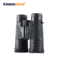 China 10x42 glasses binoculars monoculars adapter for mobile smartphone waterproof with zoom rubber eye shields No night vision