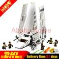 Presell Lepin 05057 937 Unids Nueva Serie Imperial Shuttle StarWar Modelo Conjunto Kit de Construcción de Ladrillos de Juguete Bloques Regalo Compatible 75094