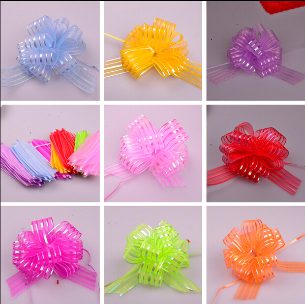 50pcs Lot Multi Color Lovely Bow Ribbon For Car Door Handle New