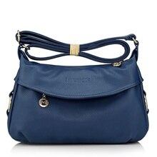Mode Damen Leder Handtaschen Tote Schulter Taschen Für Frauen Messenger Bags, frauen tasche Schulter Umhängetaschen kostenloser versand