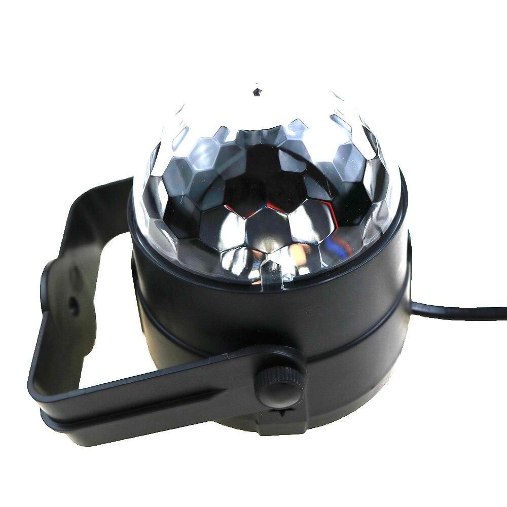 Yeni Sehrli Rəngli Kristal Sehrli Top 3W Mini RGB Mərhələ - Ticarət işıqlandırması - Fotoqrafiya 2