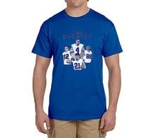 Hot Dez Bryant Dak Prescott EZEKIEL ELLIOTT Jason Witten 100% cotton t shirts Mens gift T-shirts for Cowboys fans 0215-6