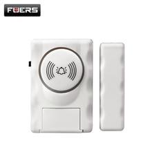 Fuers Wireless Home Security Door Window Alarm Warning System Magnetic Door Sensor Independent Alarm Wireless Open Door Detector