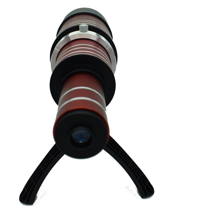 Universal Aluminum Super 80X Optical Zoom Telescope Telephoto Lens Lenses for Samsung Galaxy S8 S8 Plus S7 S7 Edge S6 S5 S4 S3