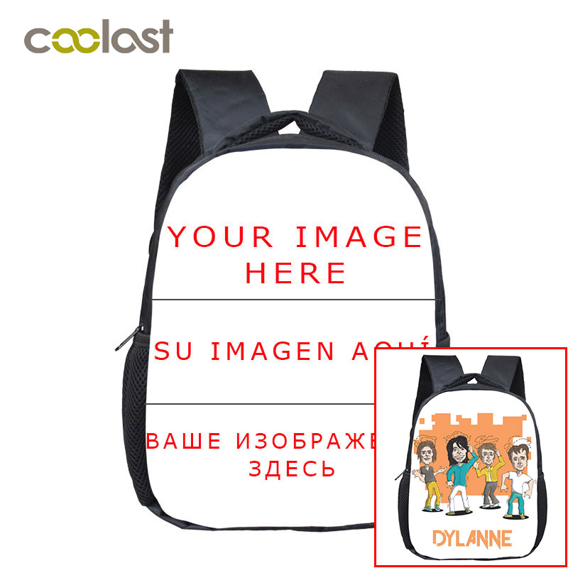Customized Mini School Backpack For Teenagers Customize Your Photo Kids Small Diaper Bag Backpacks Kids School Book Bag Gift Bag unique superman custom kids school backpack bag small the portable