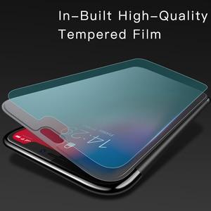 Image 2 - Прозрачный чехол Baseus для телефона iPhone XS Max XR, защитный чехол из закаленного стекла с полным покрытием для iPhone Xs XR Xs Max