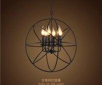 4 шт.. Американский промышленный светодио дный светодиодный подвесной светильник кристалл освещение светильники Современный Лофт подвесно