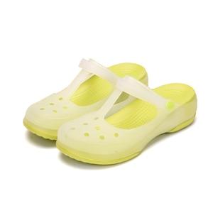Image 3 - 2019 Nurse Hole Shoes Medical Shoes Summer Women Female Hospital Comfortable Soft Bottom Anti Slip Doctor Nurse Shoes Work Shoes