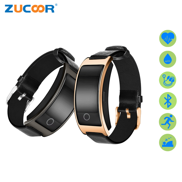 Zucoor Smart Bracelet Pulse Monitor Wristband Pedometer Ck11s Smartband Blood Pressure Bracelets Heart Rate Band Pk