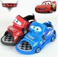 Розничная продавать, как горячие пирожки второго поколения Различные автомобили Красный автомобиль Дети летние мальчики сандалии/мальчиков обувь/Пляж обувь
