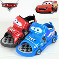 Vender como bolos quentes de segunda geração de varejo Diferentes carros carro Vermelho Crianças verão meninos sandália/calçado meninos/Praia sapatos