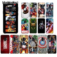 MaiYaCa Marvel Superheroes De Avengers Loki Printing Telefoon Case voor Samsung Galaxy S7 S6 S10Plus S10lite S10E S9 S8 plus(China)