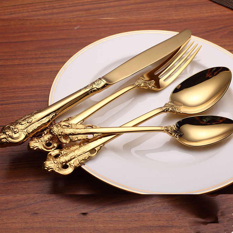 24pcs Set New Luxury Royal Style