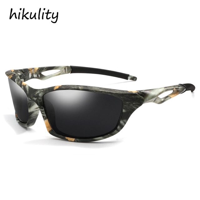 5fb24fa956 Tactical Glasses Men Polarized Sunglasses 2018 Outdo Fishing Glasses Night  Vision Camouflage Color Lenses Sun Glasses