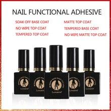 2019 New Arrival 10ml Tempered No Wipe Top Coat Base Gel Top Coat Matte Top Manicure Nail Gel Varnish Long Lasting Nail Art цена и фото