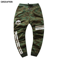 2017 Brand New Camouflage Mens Pants Cool Casual Military Trouser Slim Trend Sweatpants Men Joggers Hip