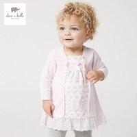 DB5136 Dave Bella Spring Baby Girl Fairy Dress Infant Clothes Girls Peri Dress Baby Birthday Dress