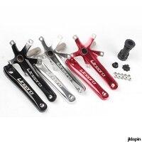Litepro LP Aluminum Alloy Foldable Bike Crank 170 mm BCD 130mm Folding Bike Crankset Tooth Plate