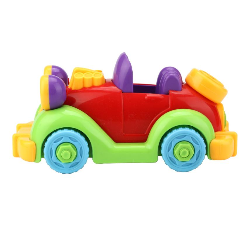 Niosung Christmas Gift Disassembly Car Design Educational toys for children Kids