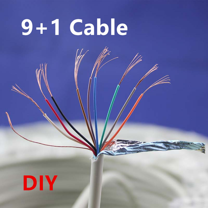 Do It Yourself Home Design: Free Shipping 9+1pin Shielded Wire Signal Line Super