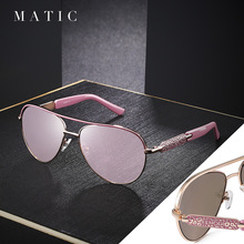 High Quality Vintage Retro Aviation Sunglasses Ladies For Wo