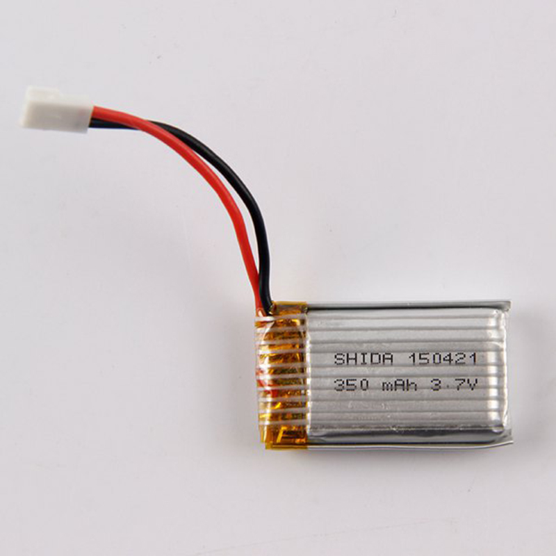 HOT 3.7V 350mAh Battery Supplies RC Drone Toys Spare Parts for Yifei XS - 1 / Husban H107 / JXD 385 / DFD F180 RC Quadcopter