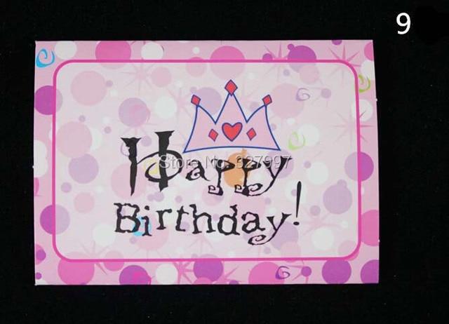 Aliexpress Buy Happy birthday invitation card children – Children Birthday Invitation Card
