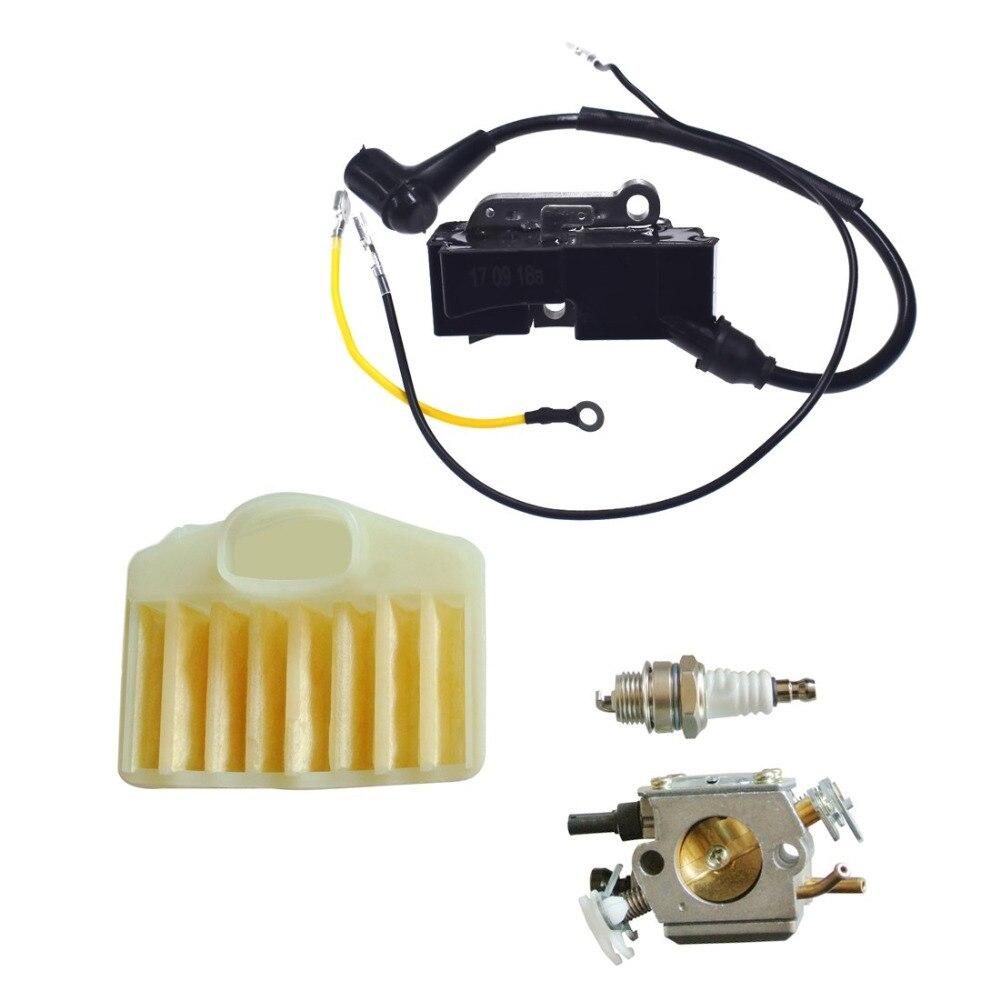 372 Plug Coil Spark 362 365 Air 371 Filter Husqvarna 372XP Carburetor For Ignition