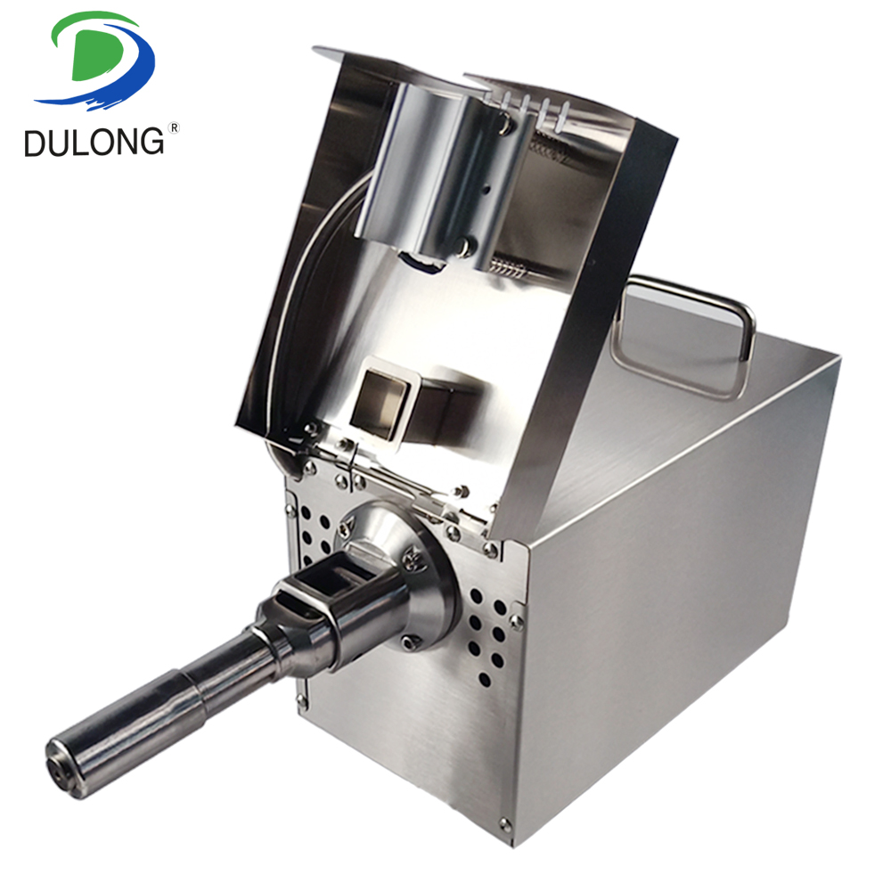 Cold And Hot Oil Press Machine Stainless Steel Press Oil Machine Commercial And Home Oil Presser Suitable For Peanut Olives etc automatic small peanut oil press machine oil soybean presser 220v 200w stainless steel brand new for home use