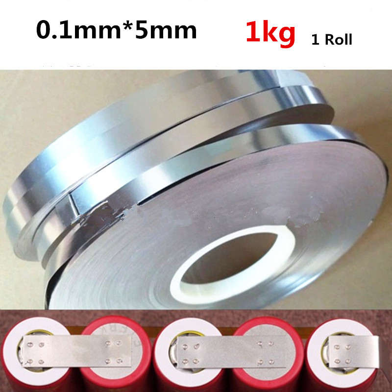 100pcs 0.1*26*3+R4mm Nickel Plated Steel Strap Strip Sheet for Battery Spot Weld