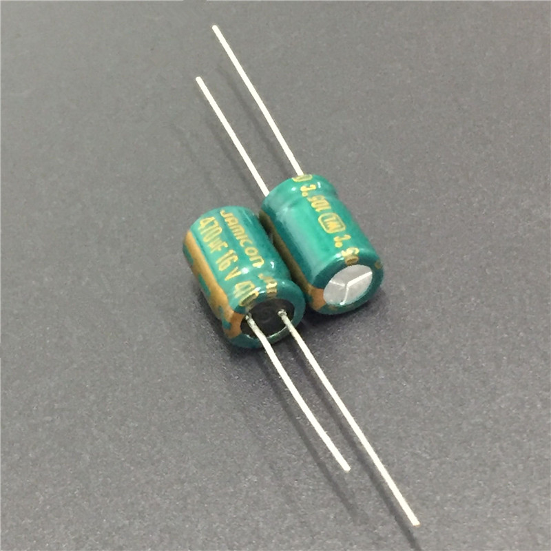 10pcs 470uF 16V JAMICON WL Series Low Impedance 8x11.5mm 16V470uF Aluminum Electrolytic Capacitor
