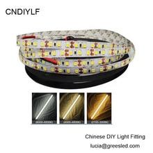 High Brightness 11.52w/m 2835 White LED Strip Light (4000K) 24V 5m/600 LED Fast Free Shipping