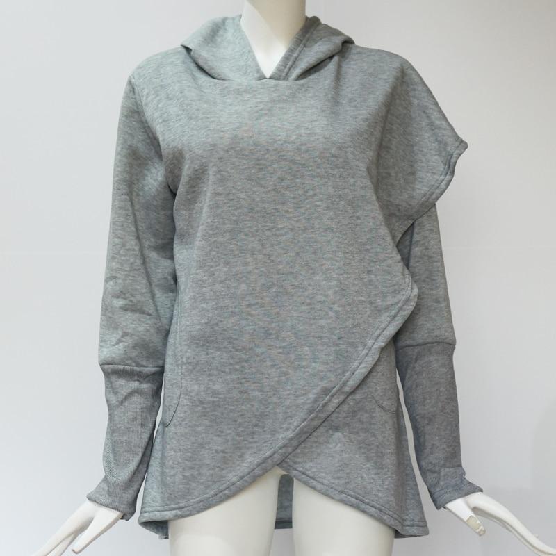 Basic Jacken Bhflutter Hoodies Frauen 2018 Neue Flare Ärmel Rollkragen Winter Pullover Tops Weibliche Warme Casual Sweatshirts Sudadera Mujer
