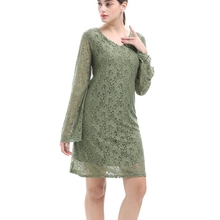 Black long sleeve lace dress h&m landing