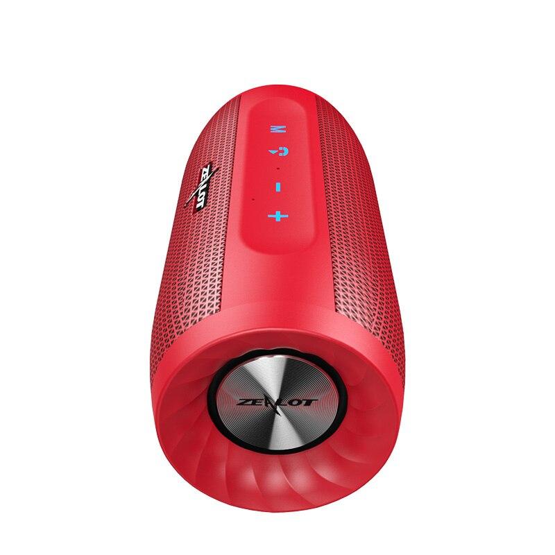 Neue ZEALOT S16 Super Bass Bluetooth Lautsprecher Wireless Stereo Soundbar AUX TF Karte Spielen Im Freien Freihändiger Mit Mikrofon