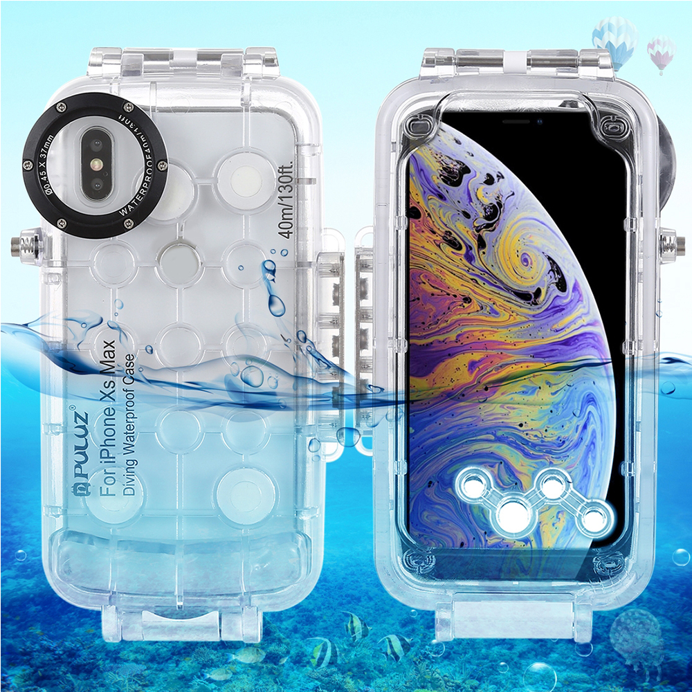 Diving Waterproof Case Underwater Protective Cover Shock proof Full Protection Case for iPhone XR XS Max